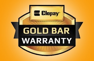 Clopay garage doors Gold Bar warranty