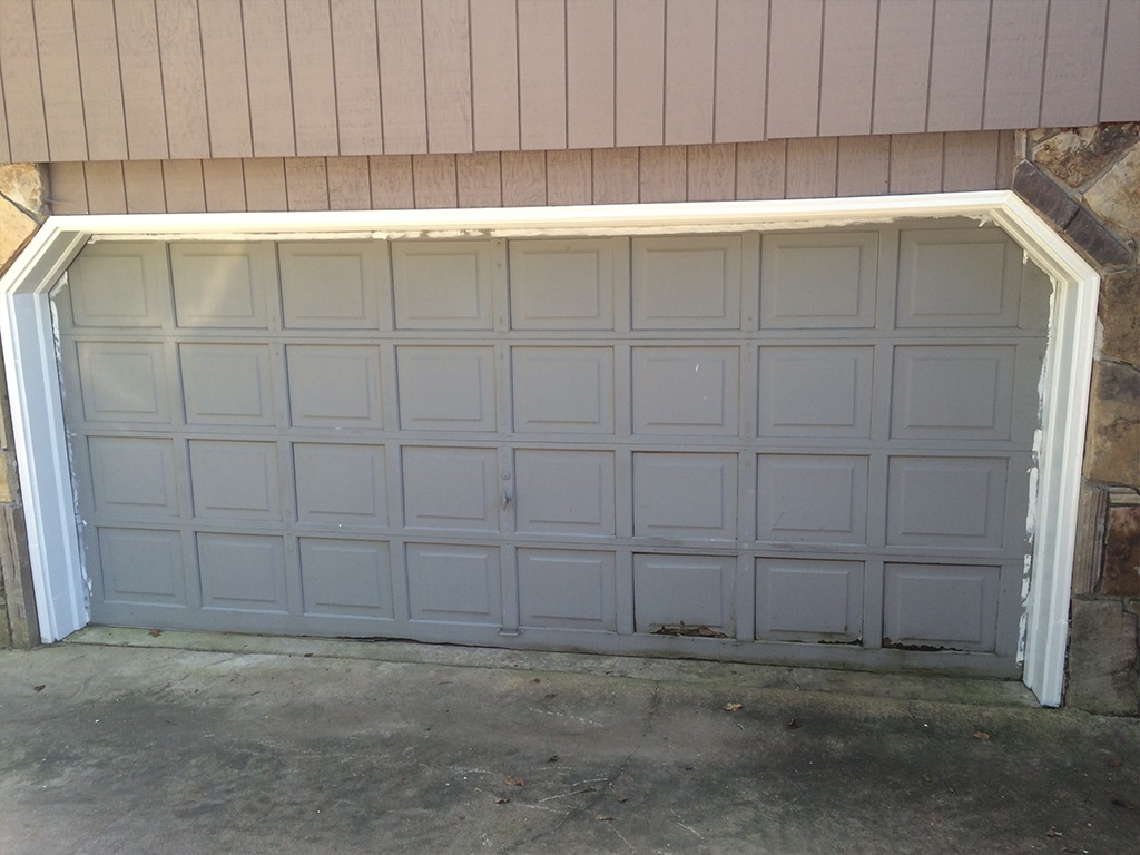 Garage doors before and after northgate doors before rubansaba